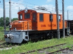 IATR 50 sits in the sunshine on the Iowa Traction railroad