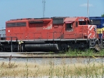 DME 6095 in CP Rail paint on the Iowa Chicago and Eastern
