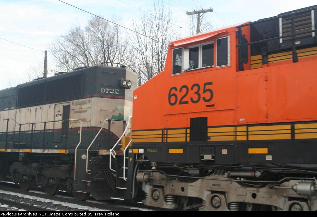 BNSF 9722