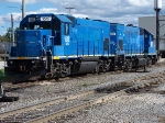 GMTX 1512 GP15-1 and sister 1507 at the St Lawrence and Atlantic Facility