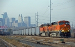 BNSF 6085 leads a coal train