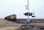 Westbound Empty UP Coal Train DPU's