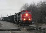 Northbound CN Manifest