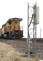 Southbound Loaded Coal Train DPU