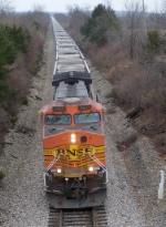 Northbound KCS Empty Coal Train