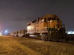 Tied Down BNSF Work Train