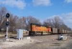 Northbound BNSF Empty Coal Train DPU
