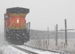 Southbound BNSF Loaded Coal Train DPU's