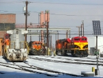 Locomotives at BNSF 36th Street Yard