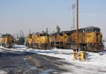 Locomotives at UP North Yard