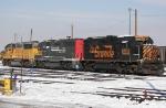 Tied Down UP Locomotives at North Yard