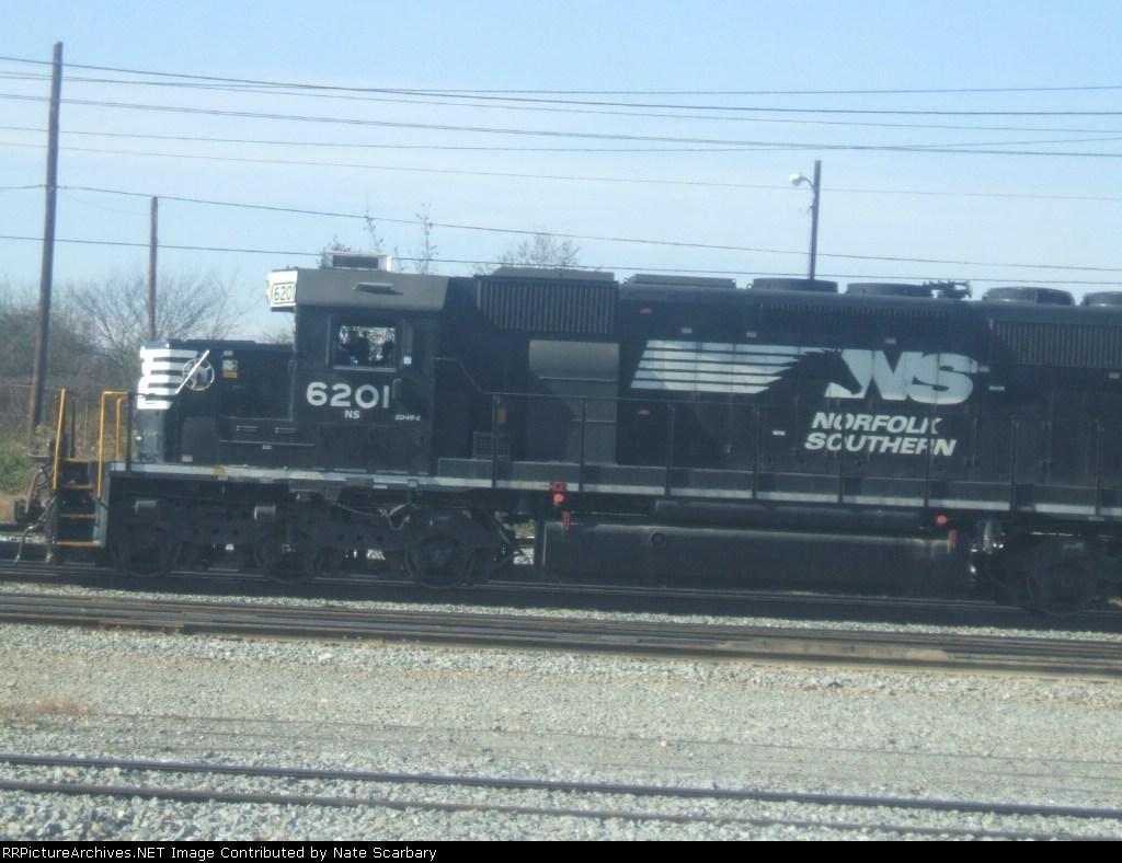 NS SD40-2 #6201