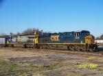 CSX 5256 leads northbound CSX train Q120