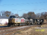 KCS 4619 leads westbound NS train 325