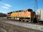 BNSF 5723 brings up the rear