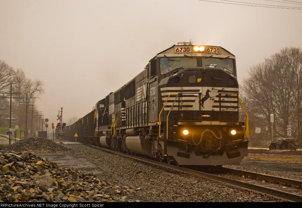 NS 643 Northbound at CP Watt