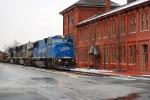 NS 11R Southbound on Buffalo Line through Sunbury, PA 12/2/07