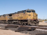 UP 9720 leads an EB doublestack at 11:29am