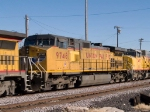 UP 9748 #2 power in a WB manifest (MLDWC) at 2:35pm