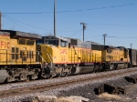 UP 2492 #3 power in a WB manifest (MLDWC) at 2:35pm
