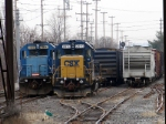 CSX 2813 and 8865