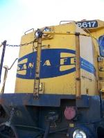 BNSF 8617
