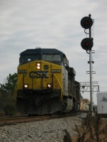 CSX 633 Going through Contentnea Jct