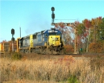 CSX 8573 Running up the old ACL line