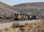 UP 5004 leads a WB MFWWC at 12:08pm