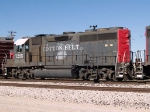 SSW 7285 #2 power in an EB local manifest at 1:10pm