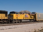 UP 5305 #2 power in a WB autorack at 12:57pm