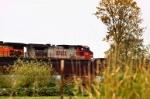 Westbound freight thru Snohomish, Wa.