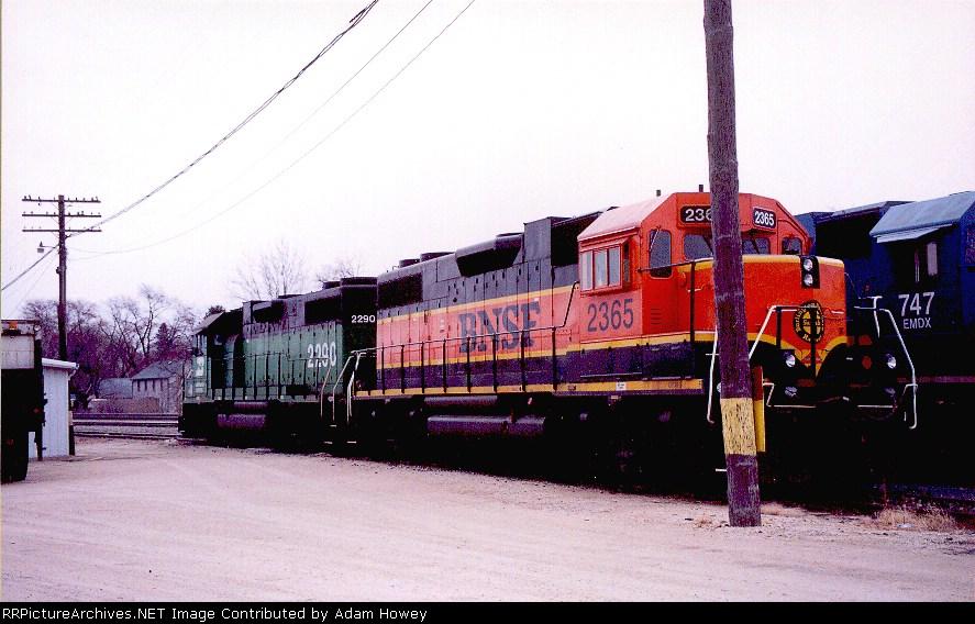 BNSF 2290 & BNSF 2290