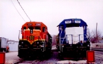 BNSF 2365 & EMDX 747