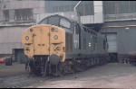 Class 37 37114 waiting attention in the works