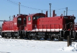 CP 1155 and 1158 sit in the Belt Pack retirement line