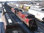 Cp Loaded Coal Train. Be unloaded at TBTL Thunder Bay