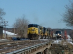 CSX 652 & AMTK 96