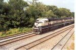 BN 9522 leads an EB coal drag