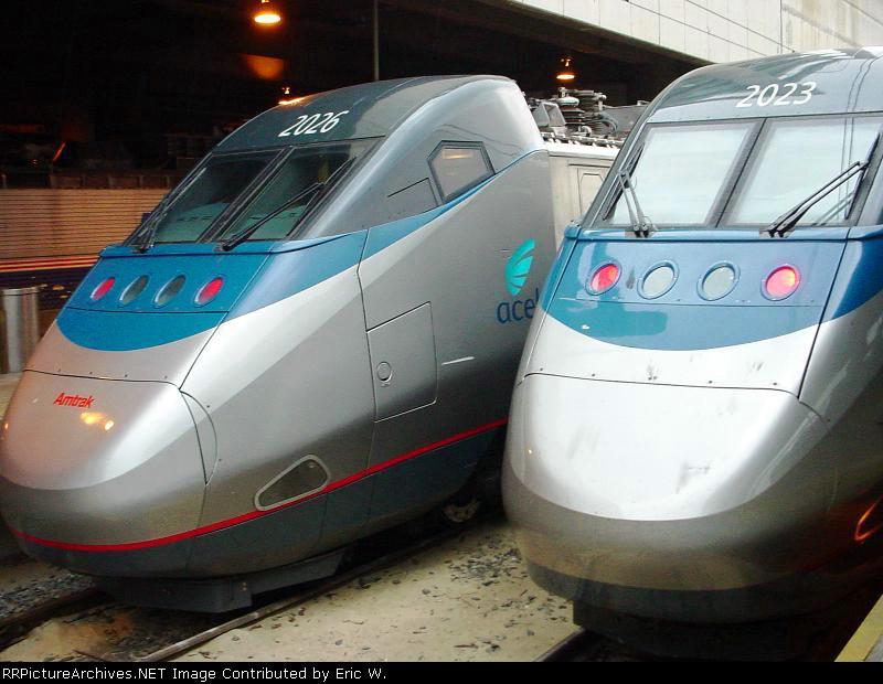 Acela 2023 and 2026