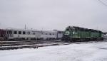 BNSF 2745 and Santa Train