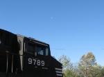 NS 9789 w/ a half moon overhead