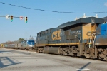 CSX 5249 meets Amtrak's Palmetto