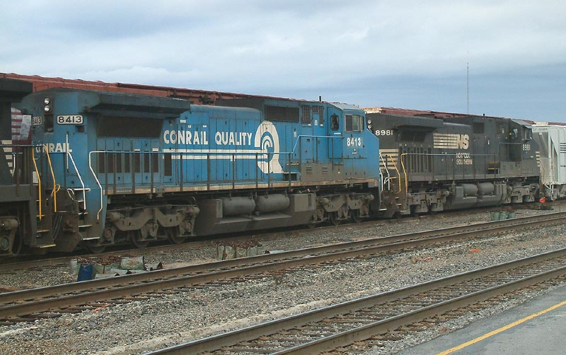 GEs on NS train 153