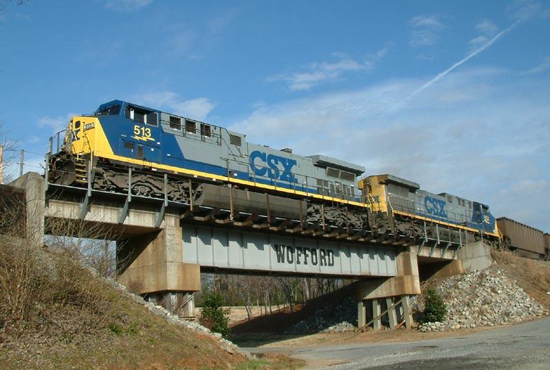 CSX SB Coal leaving town