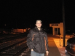 One of my very best friends, Dan at the Bryan Ohio Station