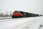 CN 5643 heads for Chicago