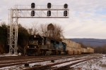 NS 20A at the new signal bridge in Mifflin, Pa