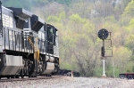 Old and new: Modern EMD technology meets old fashioned PRR technolofy as 12G  is about to knock down a signal