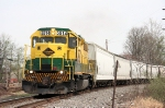 """Lycoming valley train KH 36, the """"Muncy turn"""" heads back to Newberry with the days work completed."""